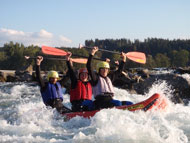 Rafting Tour im 3er Canadier
