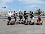 Segway Gruppe in Barcelona