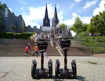 Segways in Köln