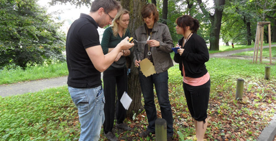 Geocaching in Rabenstein bei Chemnitz als Firmenevent