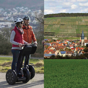 Segway fahren in Bad Mergentheim Markelsheim