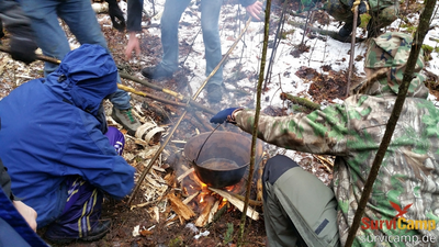 Winter-Survival-Camp (2 Tage) in Berlin/Brandenburg