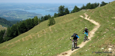 Mountainbike Fahrtechnikcamps im Chiemgau Cross County oder All-Mountain