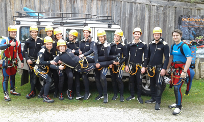 "Canyoning Tour II ""Big Fall"" - für Fortgeschrittene in Bayern"