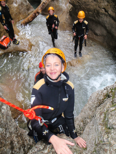 "Canyoning Tour V ""Team Active"" im Inntal in Bayern"