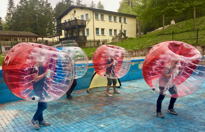 Bubble Soccer Event in Suhl (Thüringen)