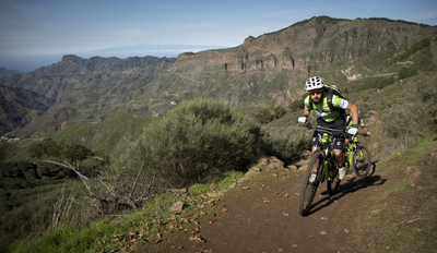 Grand Canyon auf Gran Canaria - MTB Tour mit Guide