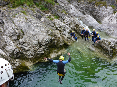 Cayoning Fortgeschrittenentour in Lenggries - Bayern