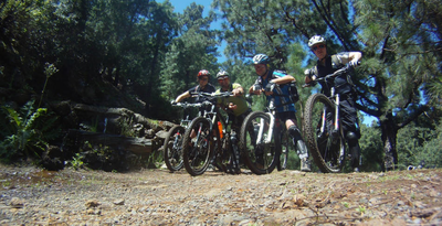 MTB All Mountain-Tour in La Esperanza auf Teneriffa