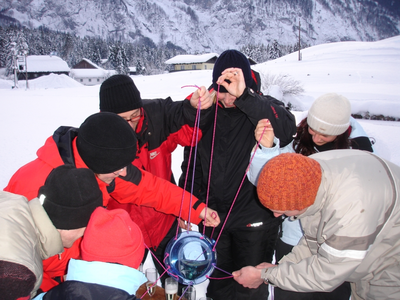 "Winter-Teamevent ""Funolympiade als Firmenevent im Salzburger Land"""