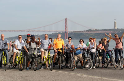 E-bike Tour in Lissabon Belém