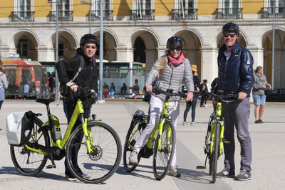 E-bike Tour Zentrum Lissabon