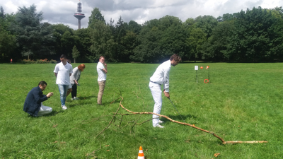 Crossgolfen in Fürth als Teamevent