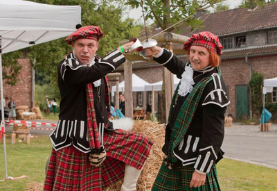 Highland Games als Teamevent oder JGA in Offenbach