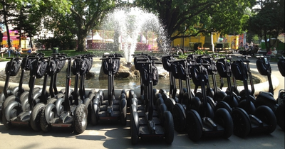 Segway Stadt Tour Wien - Hot Spot City Tour