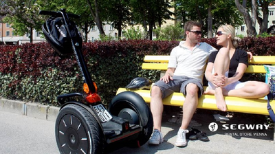 Segway Tour in Wien - Wasser & Strand Cocktail Tour