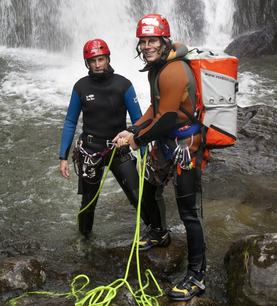 Canyoning Familien-Tour in Ried im Oberinntal
