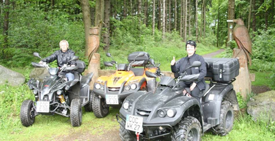 Quad-Panorama-Tour in der Eifel