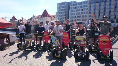 Private & exklusive VIP Segway Tour durch Berlin (z.B. als JGA)