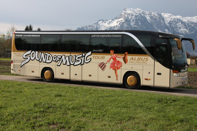 "Original ""Sound of Music Tour"" in Salzburg (Österreich)"