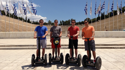 Segway-Tour in Athen zum Nationalgarten
