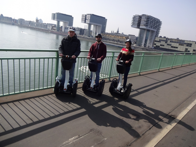 Segway PT Tour mit Guide in Köln