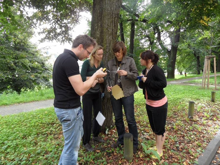 Teambuilding Berlin - Geocaching im Treptower Park