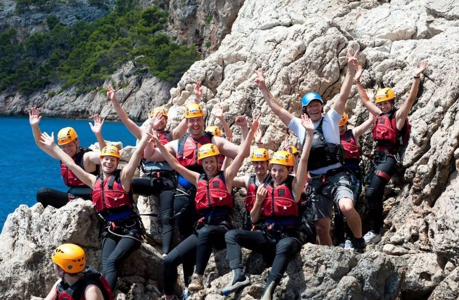 Coasteering auf Mallorca incl. Transport & Guide