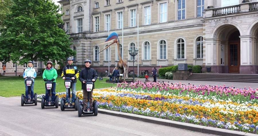 Segway City-Tour in Karlsruhe