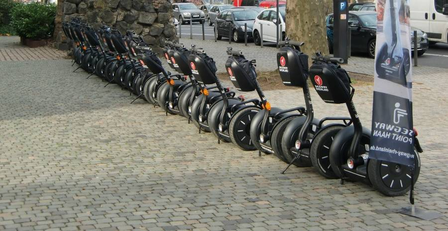Segway Tour durch Solingen