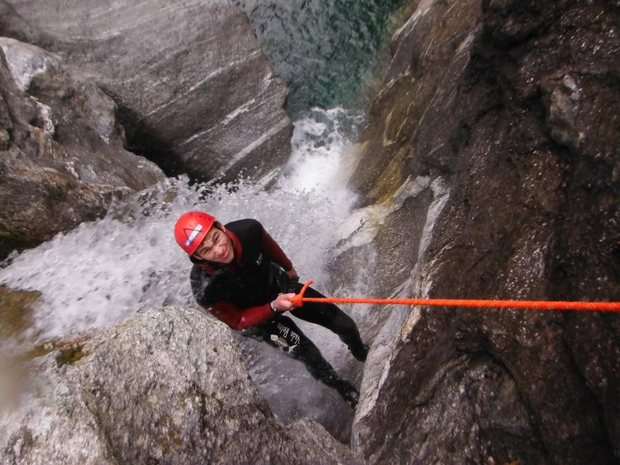 Canyoning im Zillertal - Blue Lagoon