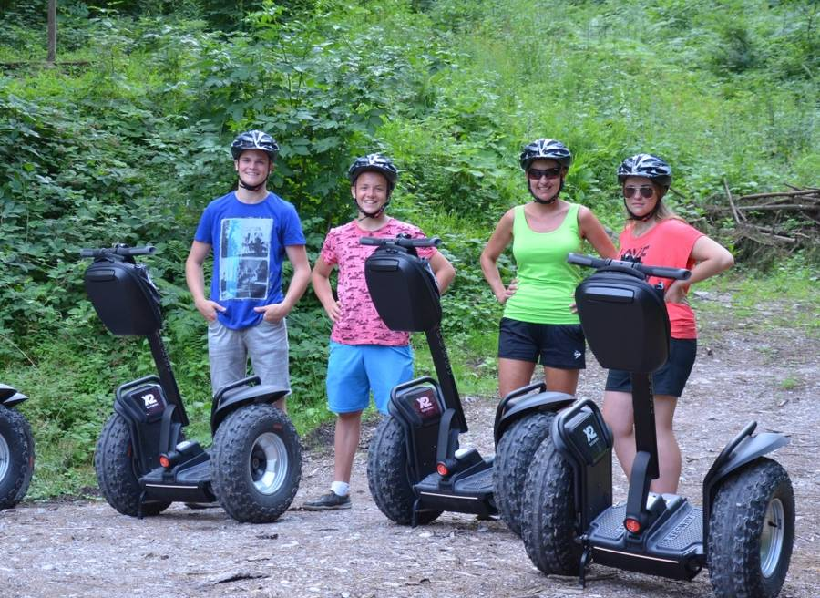 Segway-Tour zur Rottenburg in Tirol