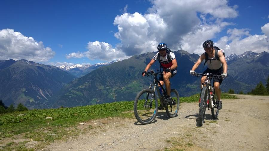MTB Trailcamp Vinschgau - Flow & Sunblockertrails