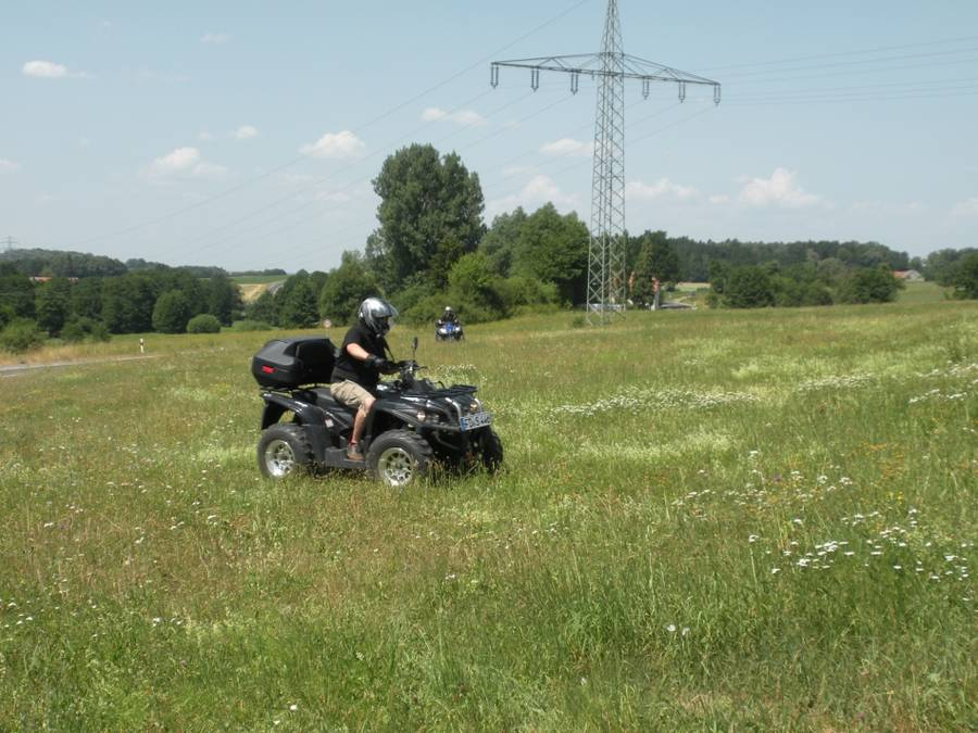Quad Tour in Fulda/Rhön