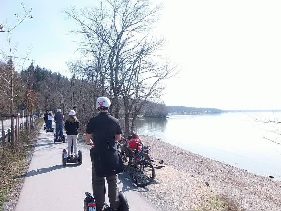 Segway Tour am Chiemsee
