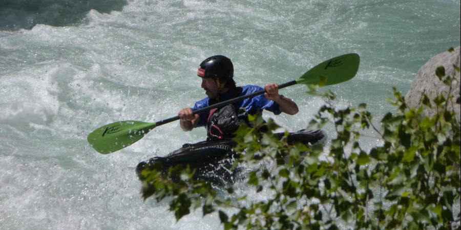 Wildwasser-Kajak-Technik-Kurs Level 1 in Bayern