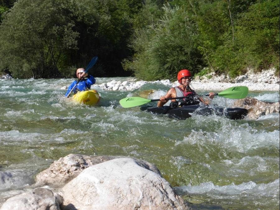 Wildwasser-Kajak-Technik-Kurs Level 2 in Bayern