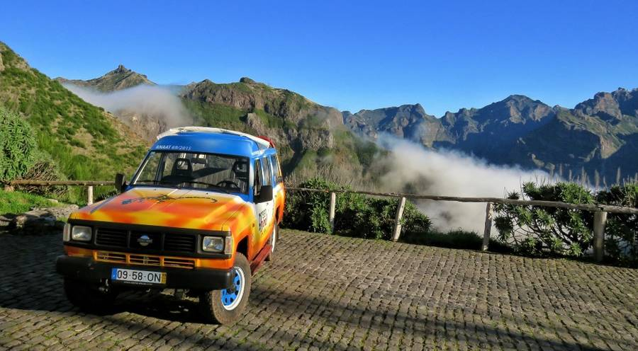 "Jeep-Tour ""Vineyards and colours (Weinberge und Farben)"" - Madeira"