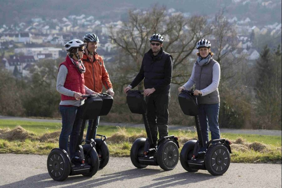 Segway Tour in Bad Mergentheim mit Bogenschießen