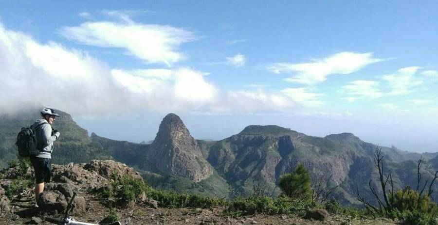 MTB Bike Tour durch den Nationalpark von La Gomera