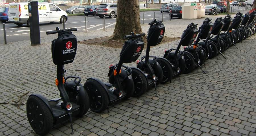 Segway Tour in Solingen - Müngsten (Bergisches Land)