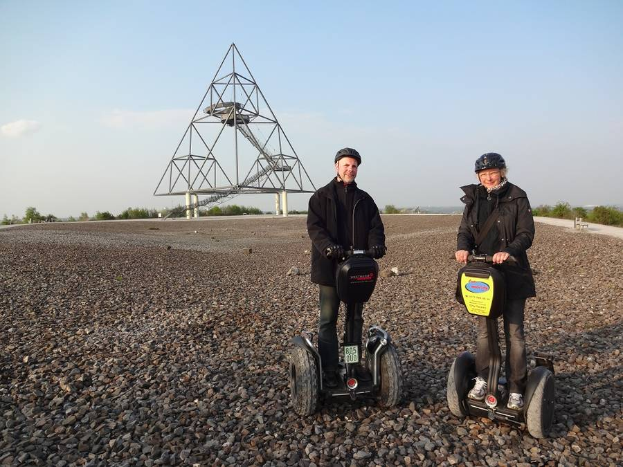 Segway Tour zum Tetraeder in Bottrop!