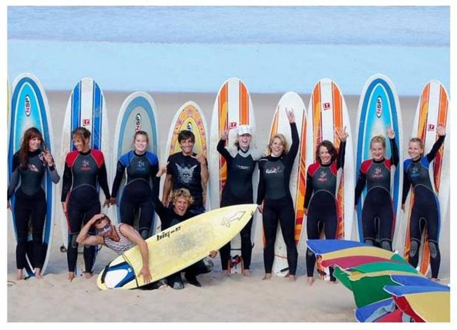 Surfen lernen in Portugal - 5 Tages Surfkurs