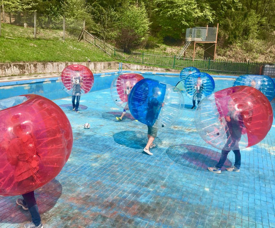 Bubble Soccer in Horb am Neckar