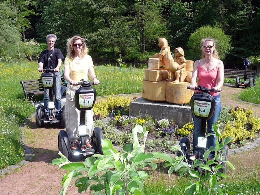 Track- & City-Segway Tour in Bad Blankenburg (Thür. Wald)