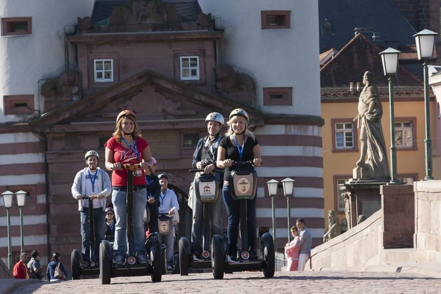 Segway-Tour in Heidelberg