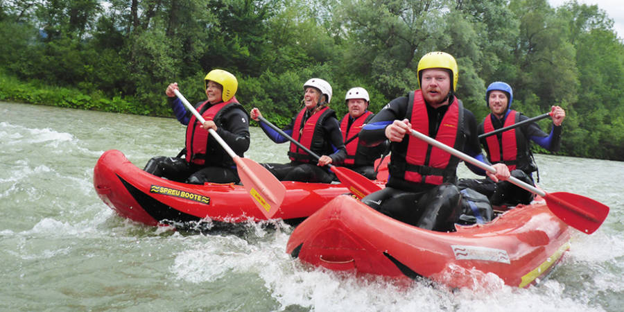 Rafting Klassiker - Wildwasseraction Level 2