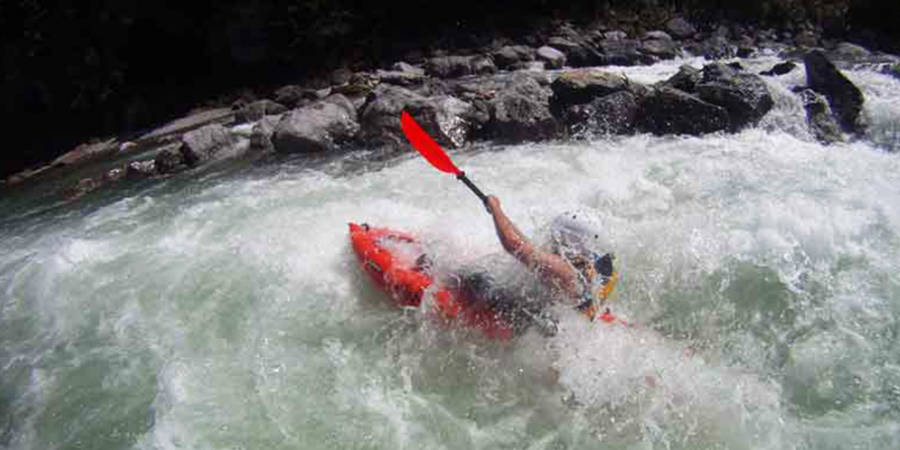 Kajak Rafting - Wildwasseraction Level 3