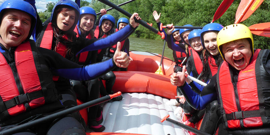 Soft-Rafting - Wildwasservergnügen Level 1