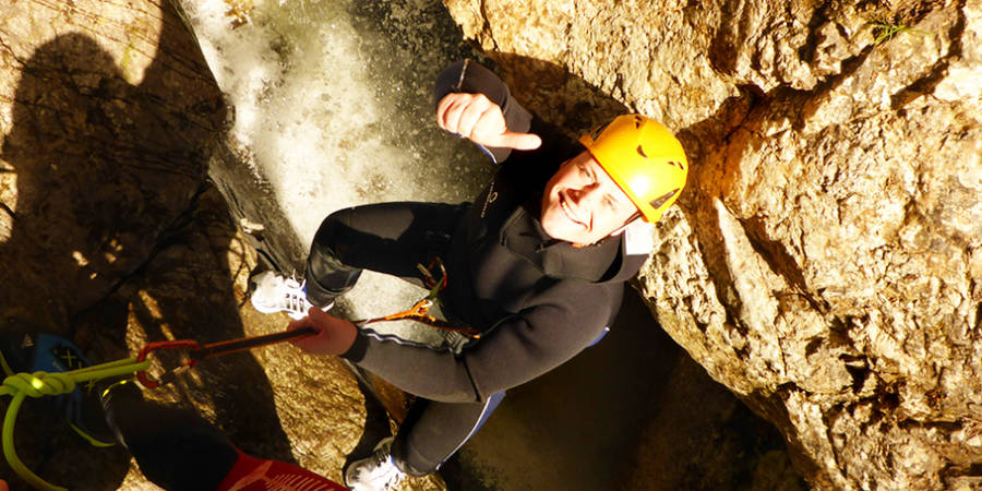 XXL Canyoning Kobelach - Level 3 Premium Tour